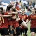 Virginia Torrecilla y Alba Redondo orgullosas tras la goleada