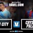 Em duelo de opostos, Manchester City recebe o Crystal Palace pela Premier League
