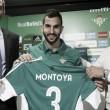 """Montoya: """"Cuando tuve la oportunidad de venir a un gran club como éste, no lo pensé"""""""