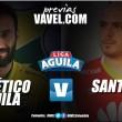 Previa Huila vs Santa Fe: el 'rojo' quiere su cuarto triunfo consecutivo