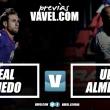Previa Real Oviedo - U. D. Almería: dos metas distintas pero un mismo partido
