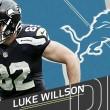 Luke Wilson llega a Detroit y Logan Paulsen a Atlanta