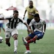 Bahia faz gol nos acréscimos, derrota Santos e vence a primeira no Brasileiro