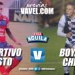 Previa Deportivo Pasto vs Boyacá Chicó: duelo por el honor y por escaparle al descenso