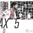Ajax arrasa y golea al Emmen en casa