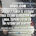 """Entrevista a Juan Ignacio Cautela: """"Nos preparamos muy bien, hay un gran plantel en el equipo"""""""