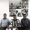 Botafogo estende vínculo com lateral-esquerdo revelado nas categorias de base