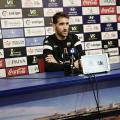 Fausto Tienza en sala de prensa // Imagen: Extremadura UD