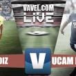 Resultado Cádiz vs UCAM Murcia en vivo y en directo online