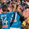 Napoli show, la soddisfazione di Sarri e Mertens