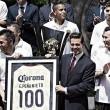 América visita Los Pinos después del título de CONCACAF