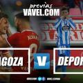 Previa Real Zaragoza - Deportivo La Coruña: dos históricos se baten en La Romareda