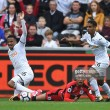 Tom Ince unhappy with refereeing decisions in defeat to Swansea