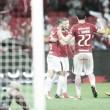 Atacantes brilham e Internacional vence Figueirense para retomar liderança da Série B no Beira-Rio