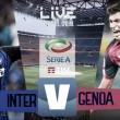 Inter - Genoa in diretta, LIVE Serie A 2017/18 (0-0)