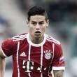 """James Rodríguez projeta alvo no Bayern: """"Mais minutos de jogo e conquistas"""""""