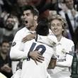 Con centro de James, Real Madrid saca victoria en el Bernabéu