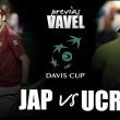 Copa Davis 2016. Japón - Ucrania: aplastante favoritismo samurai