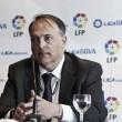 Tebas cuenta con el apoyo del Elche CF para su reelección como presidete de la LFP