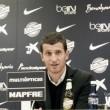 """Javi Gracia: """"El equipo está mucho más animado y confiado en sus posibilidades"""""""