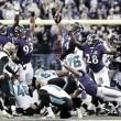 Los Ravens vencen a los ingenuos Jaguars en un partido de locura