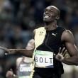 Bolt triunfa en los 100 metros, pero lejos de su récord