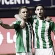 El Betis gana en Pamplona en el último minuto