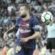 Jordi Alba, lesionado, cae de la convocatoria