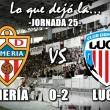 Lo que dejó la jornada 25: Almería 0-2 Lugo