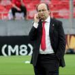 """José Castro: """"Estamos negociando con Banega y ojalá que continúe muchos años"""""""
