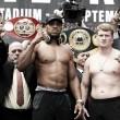 Joshua defenderá sus cinturones de peso pesado frente a Povetkin