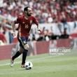 Juanfran volvió a disputar los 90 minutos en el tropezón de España