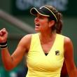 Top 10 WTA Upsets Of 2015: #9 - Goerges Overpowers Wozniacki