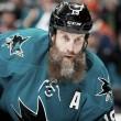 Joe Thornton podría volver con los Sharks para los playoffs