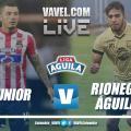 Resumen Junior vs Rionegro Águilas por las semifinales de la Liga Águila II-2018.(1-1), global (4-3)