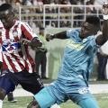Junior de Barranquilla se asustó con la piel del Jaguar y perdió la cabeza
