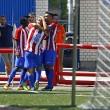 El Atleti B sella su primera victoria de la temporada en el Luis Aragonés