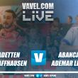 Resumen Kadetten Schaffhausen vs ABANCA Ademar León en Velux EHF Champions League 2017 (23-24)