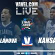 Kansas vs Villanova Live Score Stream in NCAA College Basketball Final Four (0-0)