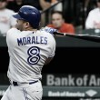 Morales' hat trick leads Blue Jays to 11-8 victory over Orioles