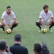 """Sarabia: """"Está claro que el Sevilla es un club muy grande"""""""