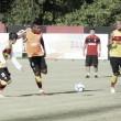 Reforçado, Vitória treina com bola pela primeira vez em 2017