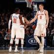 NBA - Porzingis guida i Knicks alla vittoria sui Nets; affermazione casalinga per i Bulls contro gli Heat