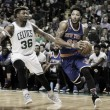 Derrick Rose's 30 point performance leads New York Knicks Past Boston Celtics, 117-106