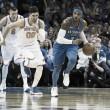 Oklahoma City Thunder win season opener against New York Knicks with Help of OKC's big three