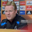 Ronald Koeman believes he has the backing of the Everton board