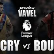 Crystal Palace - Bournemouth: hora de despegar
