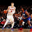 NBA - I Pelicans rimontano Oklahoma City, i Clippers cadono ancora contro New York