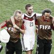 Campeões mundiais com a Alemanha brincam com concussão de Kramer na final