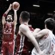 Milano batte Reggio Emilia e la distacca in vetta alla classifica